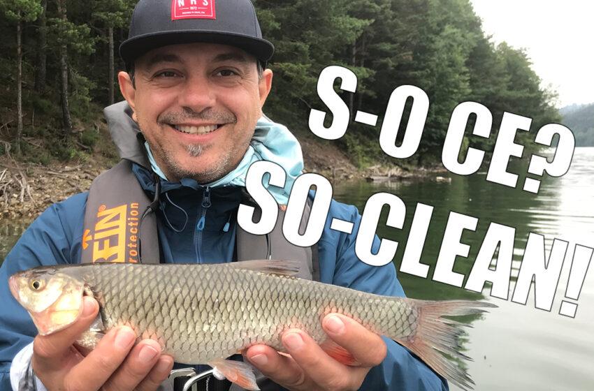 Chef Sorin Bontea, pescuit la clean si biban pe lacul Bicaz!