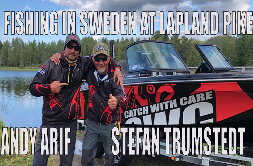 La pescuit cu Stefan Trumstedt in Suedia, Lapland Pike 2019!