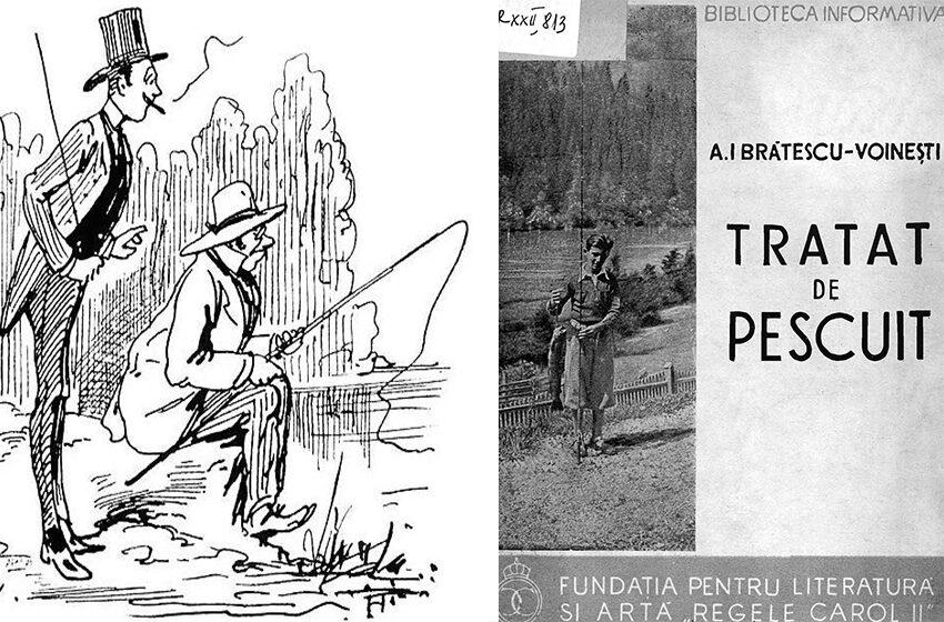 12 reguli nemuritoare in etica pescuitului, anul 1938, I.A. Brătescu-Voineşti!