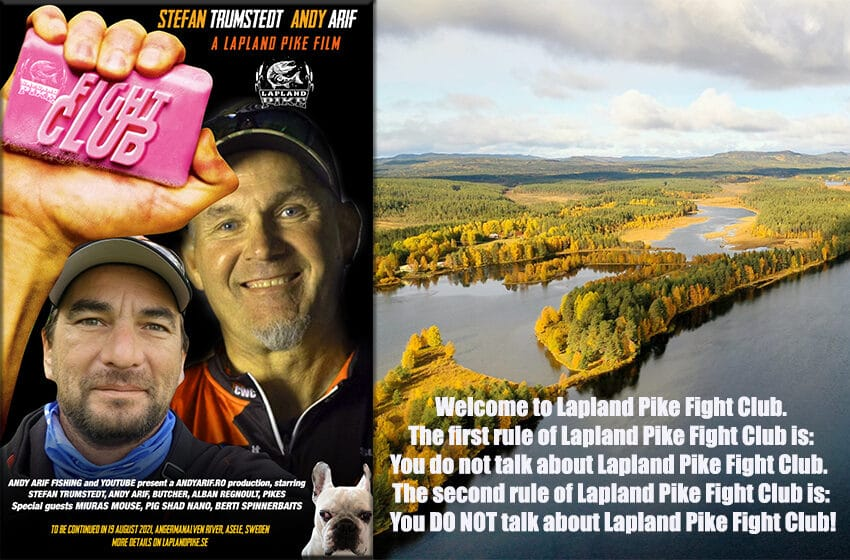Lapland Pike Fight Club, Stefan Trumstedt, Andy Arif!